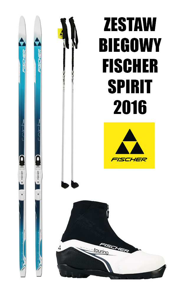 damski zestaw biegowy fischer 2016