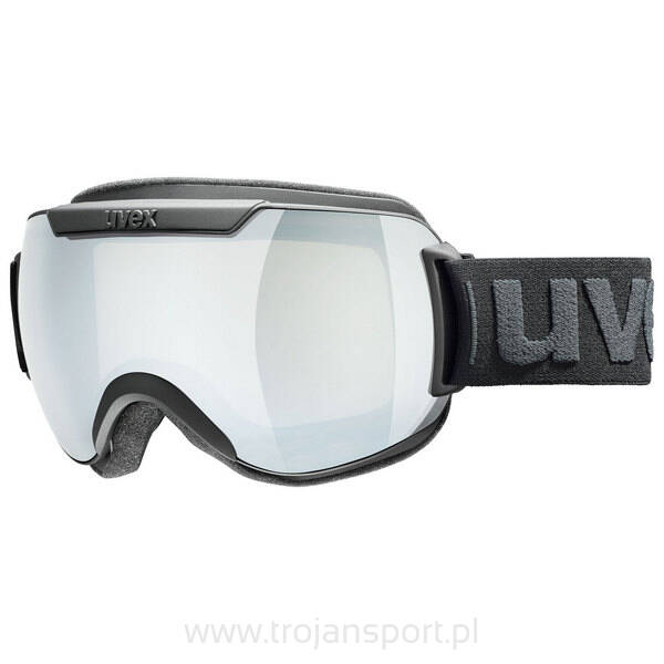 a50b0c4e5 Gogle narciarskie Uvex Downhill 2000 FM Black Mat Silver 2019