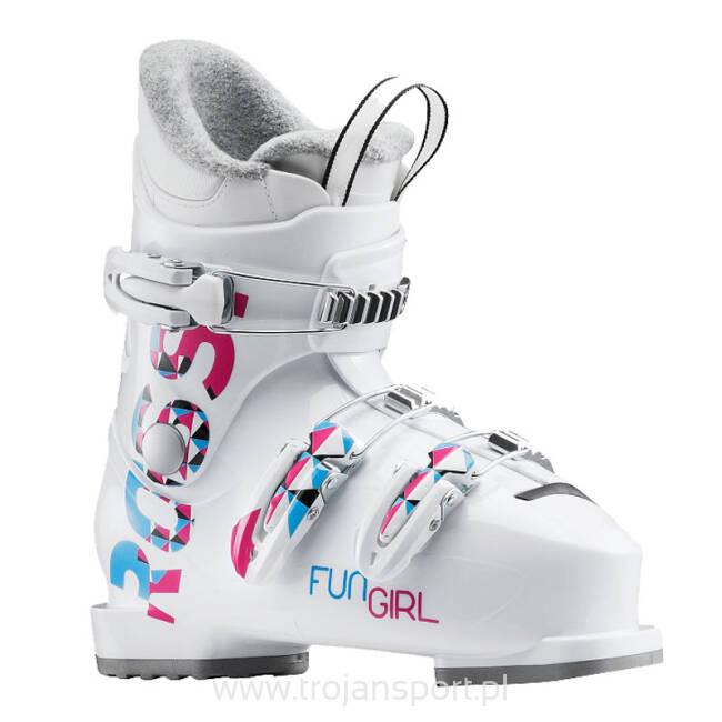 Buty Narciarskie Dzieciece Rossignol Fun Girl J3 White 2020