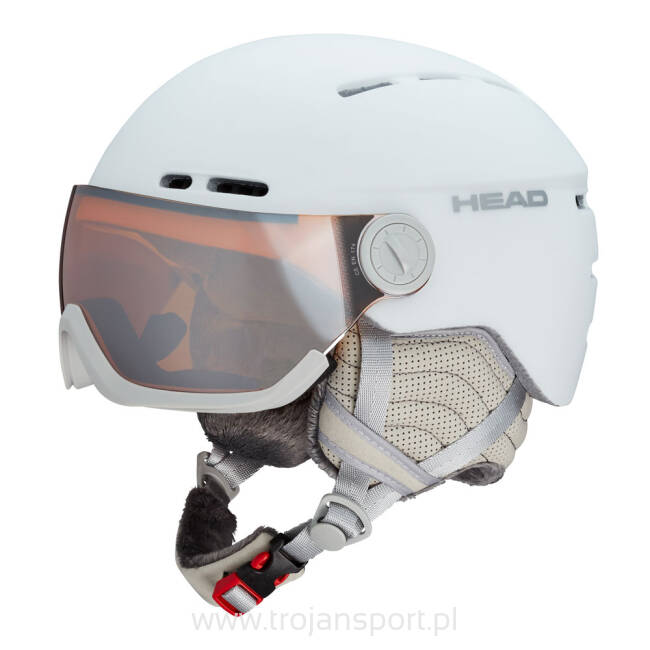 Kask narciarski Head Queen White 2019