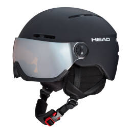 Kask narciarski Head Knight Black Visor 2020