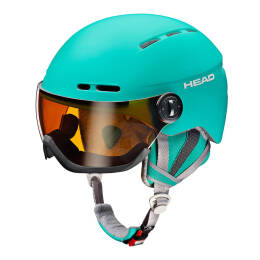 Kask narciarski Head Queen Turquoise 2018
