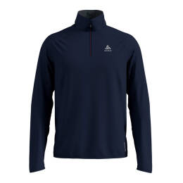 Bluza Odlo Carve Ceramiwarm 1/2 Zip Diving Navy 2020 (druga warstwa)
