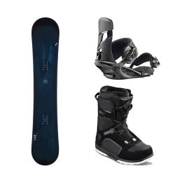 Zestaw Snowboardowy Head True + Scout Pro Boa Black + NX One Black  2019
