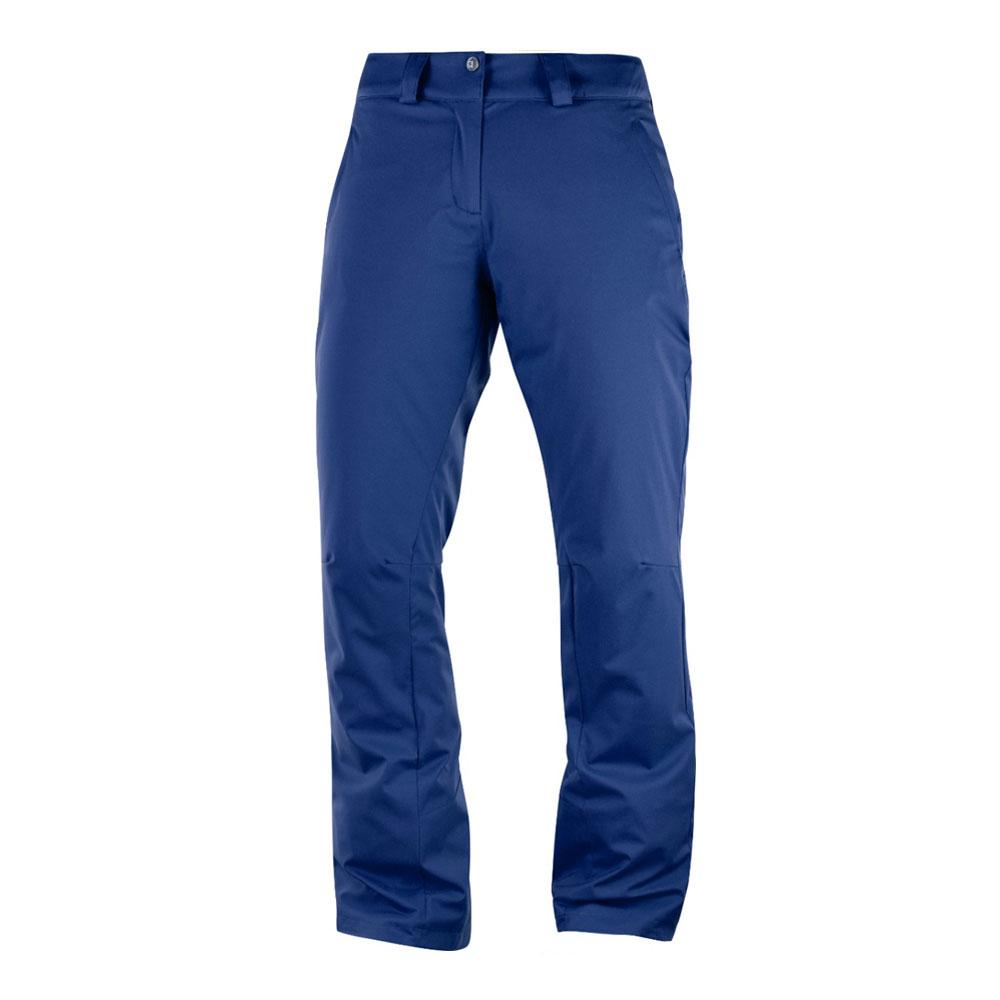 95b552bcecb419 Spodnie narciarskie damskie Salomon Stormpunch Pant W Medieval Blue 2019
