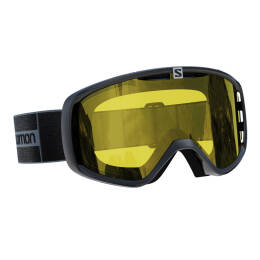 Gogle narciarskie Salomon Aksium Access Grey Yellow S1 2021