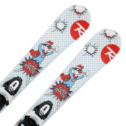 Narty Rossignol Super Roostie JR + Team 4 2020