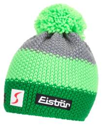 Czapka Eisbar Star Neon Pompon MÜ SP Grey Green Light Green 2019