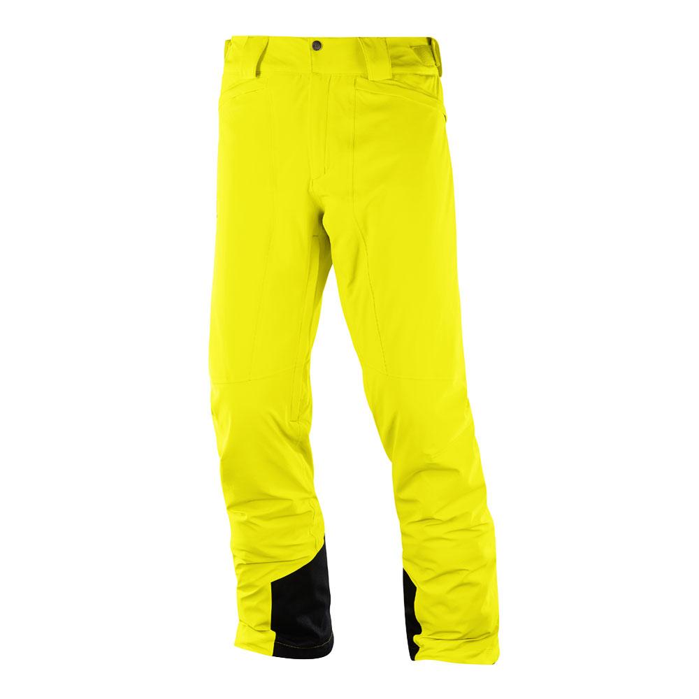 Spodnie narciarskie męskie Salomon Icemania Pant M Sulphur