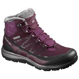 Buty Salomon Kaina CS WP 2 Bordeaux Purple 2018