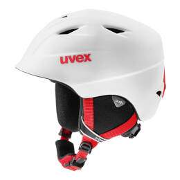 Kask dziecięcy Uvex Airwing 2 Pro White-Red Mat 2018